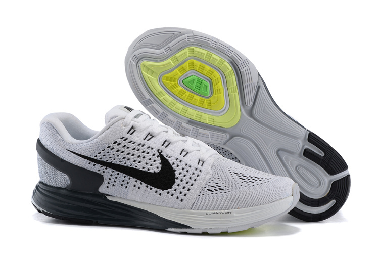 Men's Nike LunarGlide 7 Grey/White