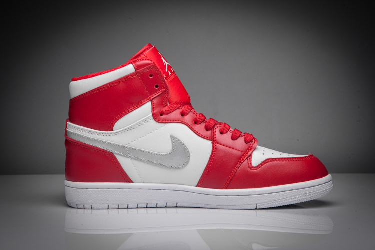 Air Jordan 1 Mid red/white