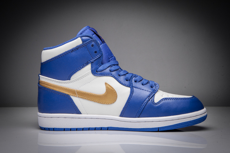 Air Jordan 1 Mid blue/white