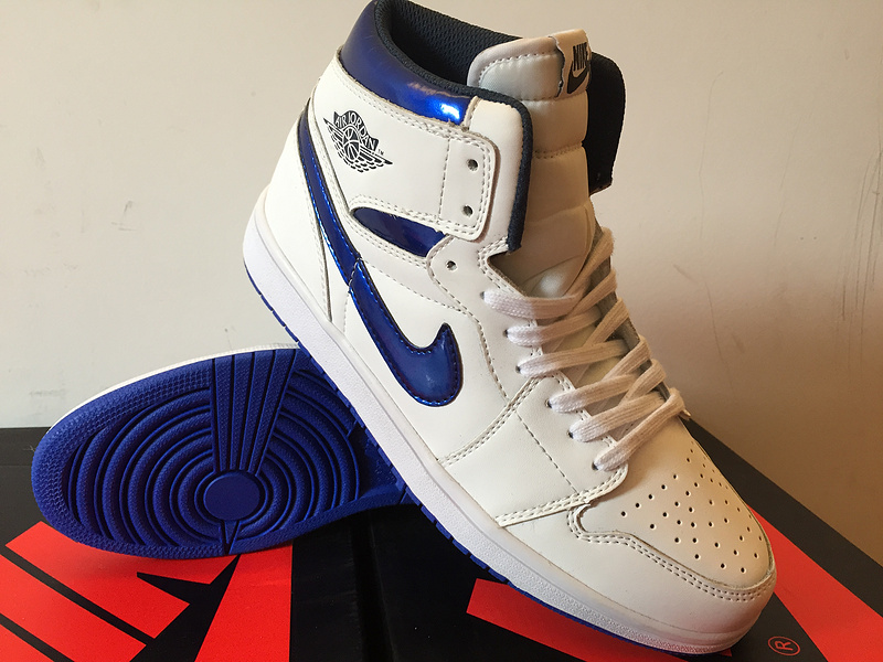 Air Jordan 1 Retro High black/blue/white