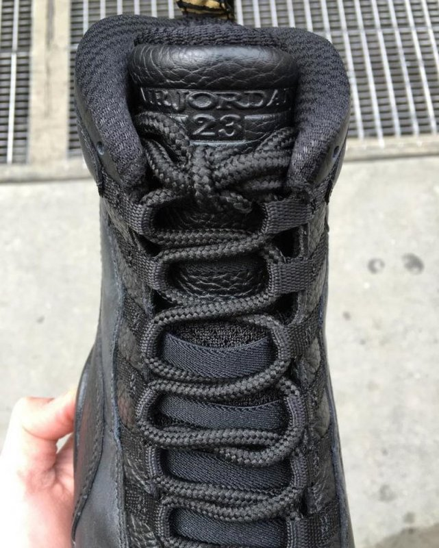Air Jordan 10 Retro black/black