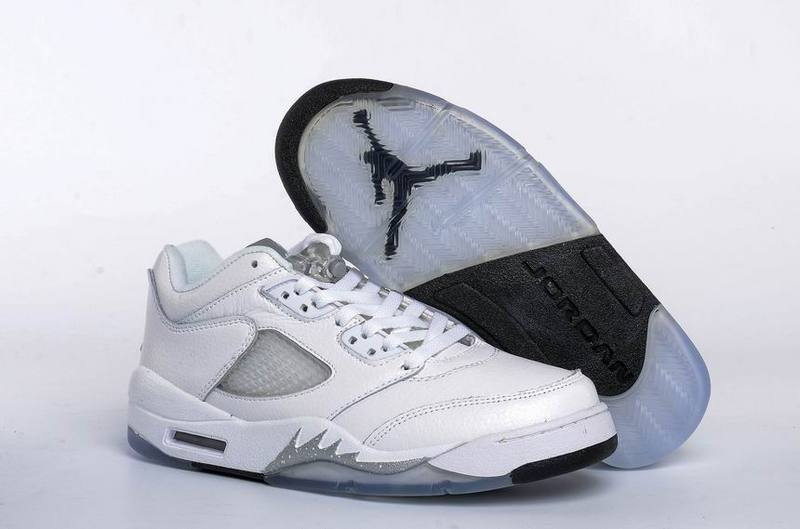Air Jordan 5 Retro Low White/Black