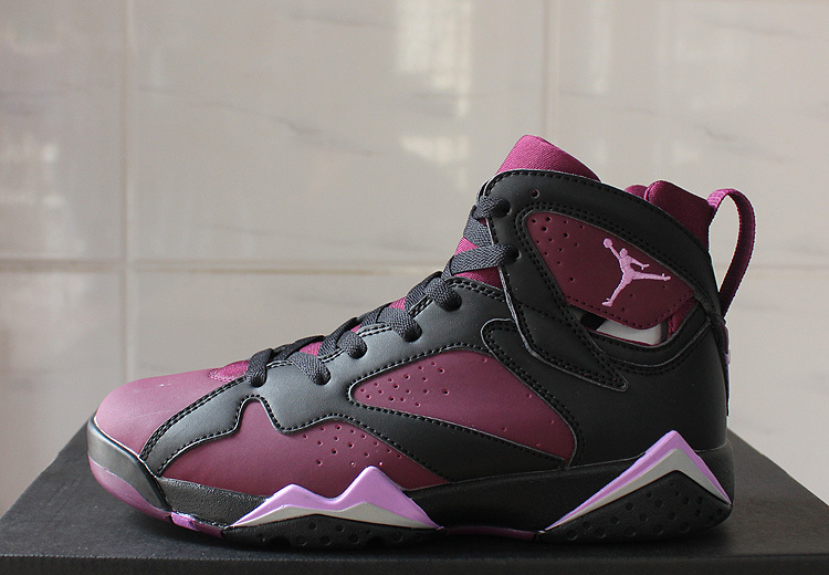 Air Jordan 7 Retro 30th black/Maroon