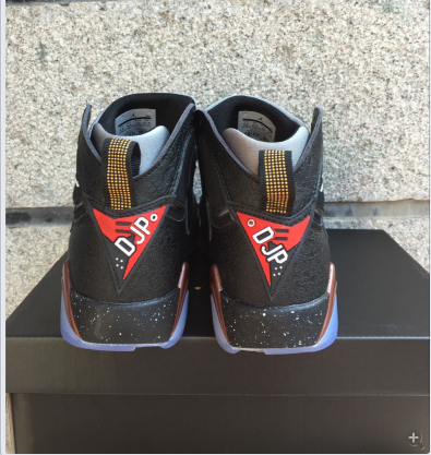 Air Jordan 7 Retro Black/Chololate
