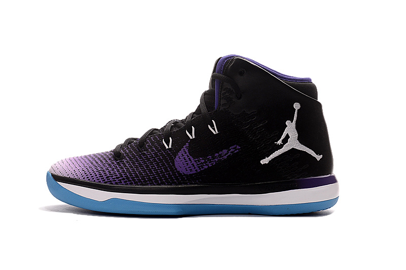 Air Jordan XXXI Black/White/darkviolet
