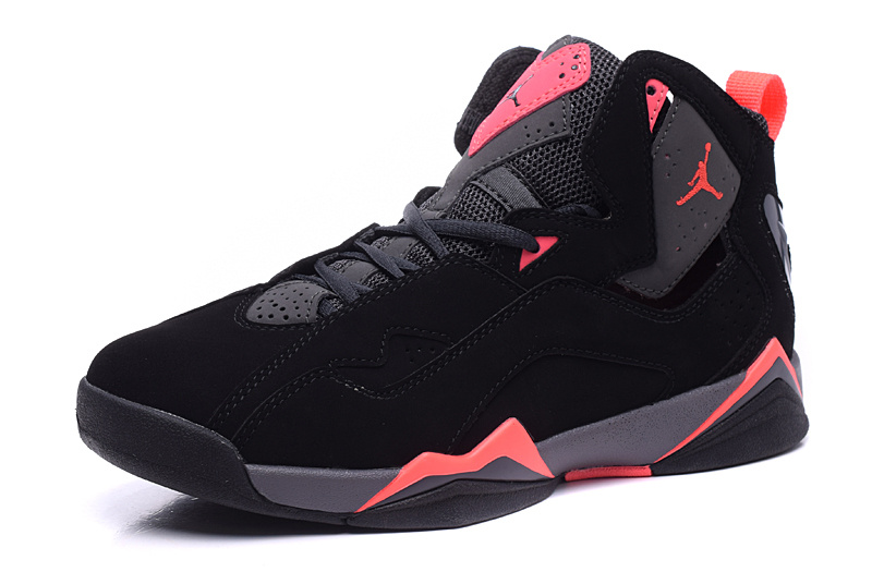 Air Jordan 7 Retro Black/Gray/LightCoral