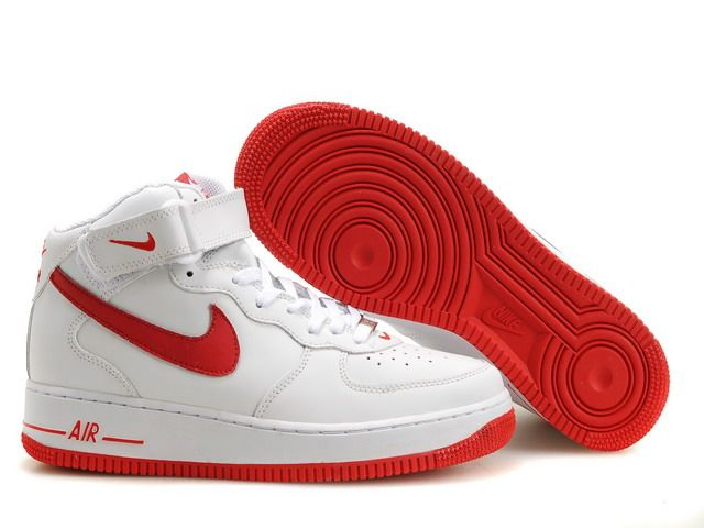 Nike Air Force 1 07 white/red