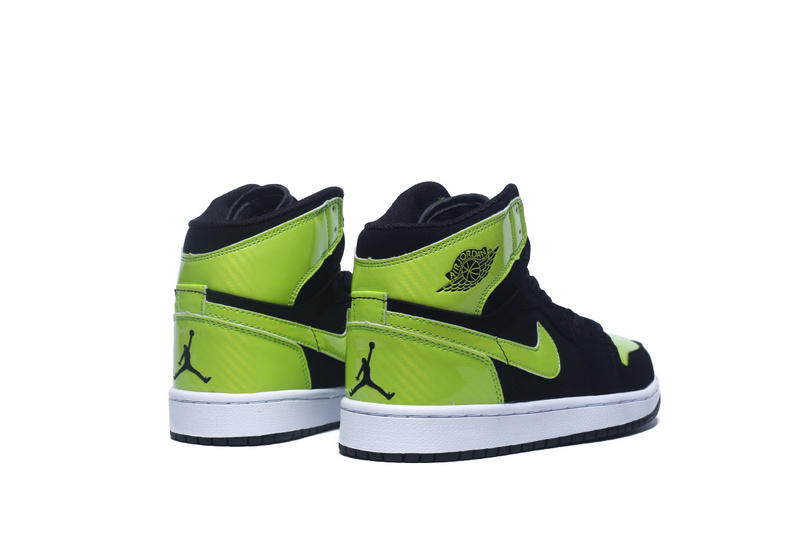 Air Jordan 1 Retro High OG black/lawngreen/white