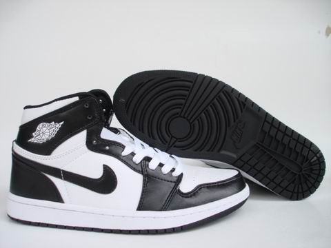 Jordan 1 Shoes black/white