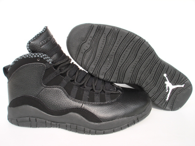 Jordan 10 Shoes black