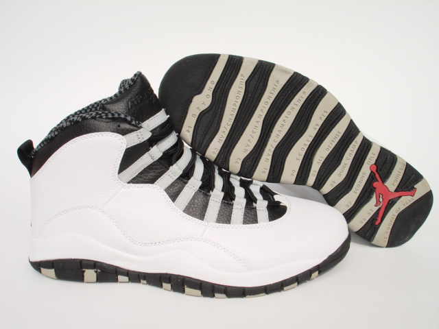 Jordan 10 Shoes black/white