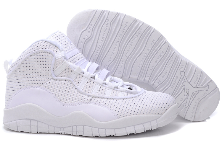 Jordan 10 Shoes white