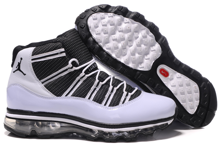Jordan 11 Air Max Fusion black/white