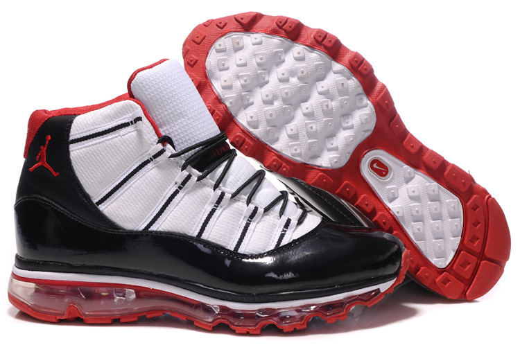 Jordan 11 Air Max Fusion black/white/red III
