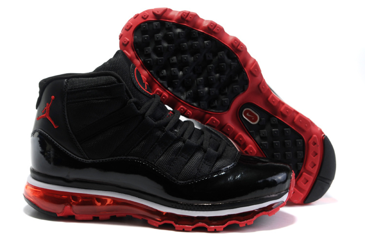 Jordan 11 Air Max Fusion black/white/red V