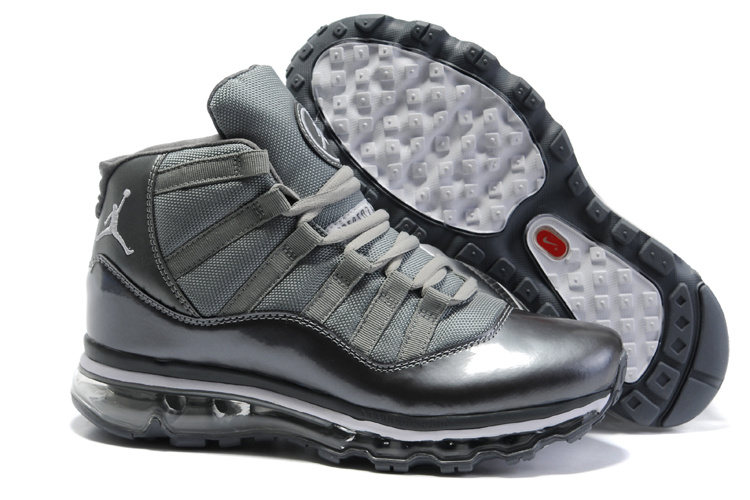Jordan 11 Air Max Fusion black/gray
