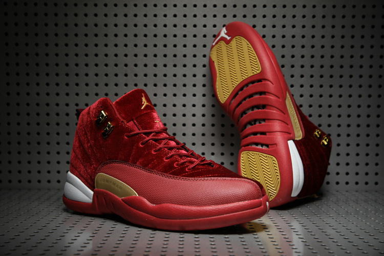 Air Jordan 12 Retro Red/Red/Gold