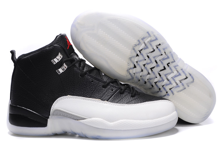 Jordan 12 Shoes white/black