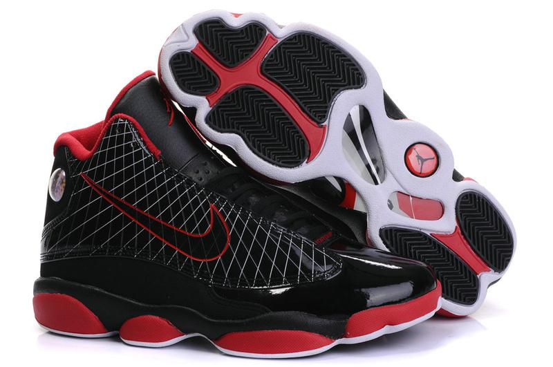 Jordan 13 Lebron James black/white/red