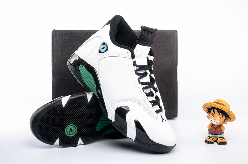Air Jordan 14 Retro black/seagreen/white