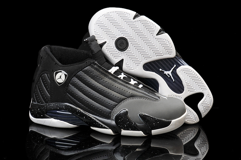 Air Jordan 14 Retro black/white