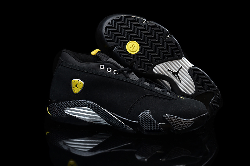 Air Jordan 14 Retro black/yellow/slivev