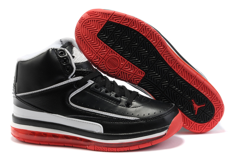 Jordan Retro 2 black/white/red II