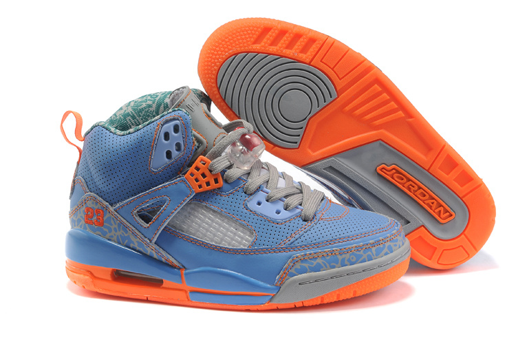 Nike Air Jordan 3.5 Womens orangered/dodgerblue/gray
