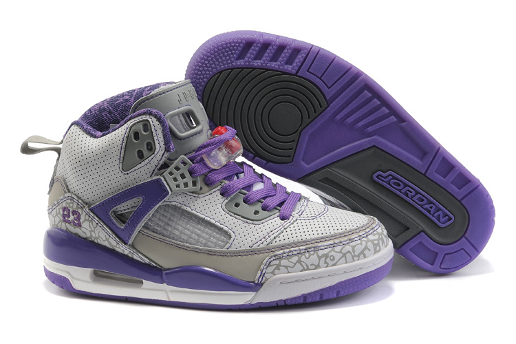 Nike Air Jordan 3.5 Womens blueviolet/gray