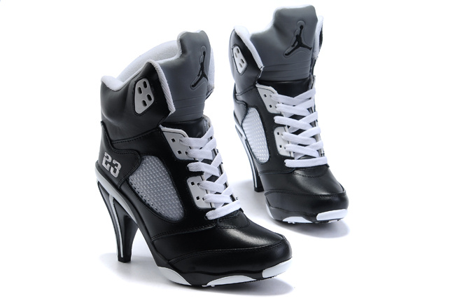 Jordan 5 High Heels Shoes