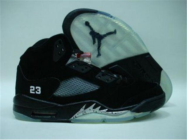 Jordan Retro 5 white/black