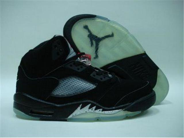 Jordan Retro 5 white/black II