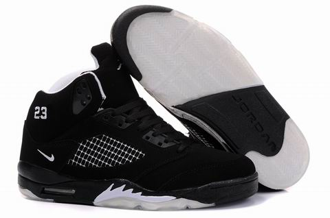 Jordan Retro 5 white/black III