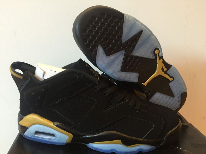 Air Jordan 6 Retro black/golden