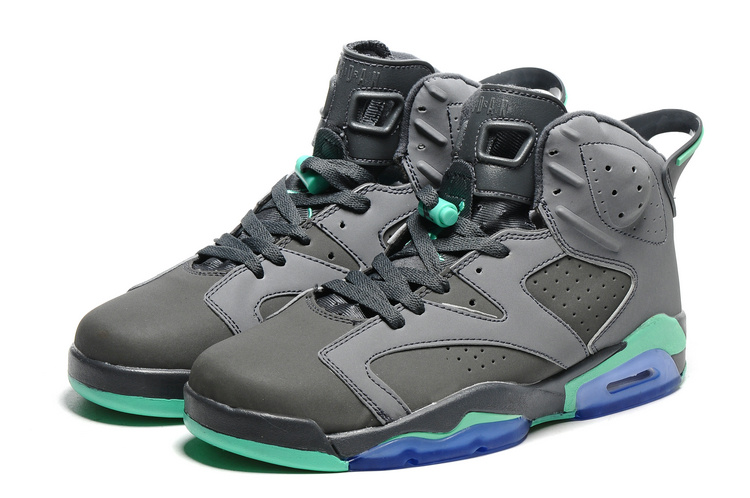 Air Jordan 6 Retro gray/darkturquoise/blue