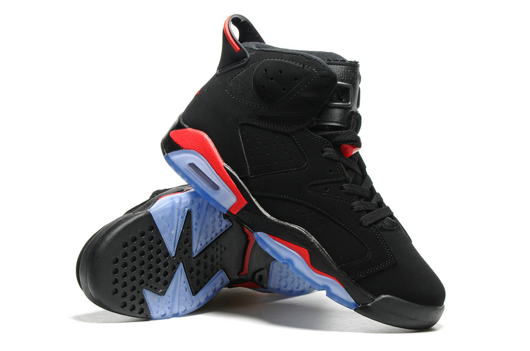 Air Jordan Retro 6 black/red