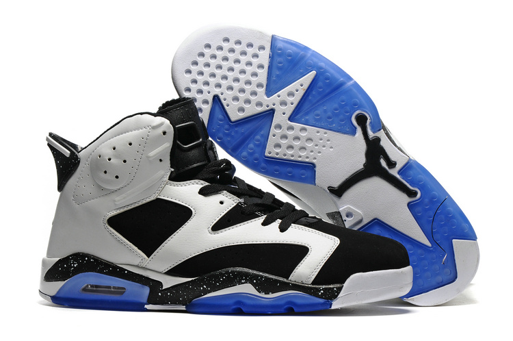 Air Jordan Retro 6 black/blue/white