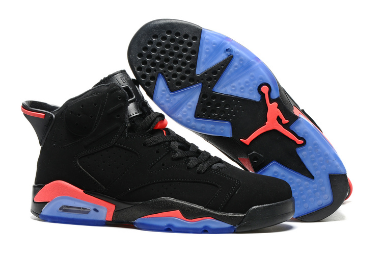 Air Jordan Retro 6 black/blue/coral
