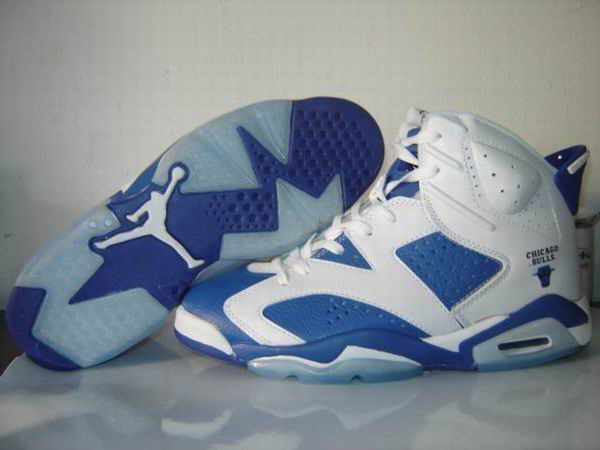 Jordan 6 Retro white/blue