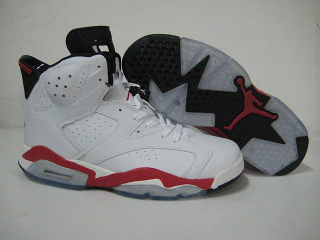Jordan 6 Retro black/white/red