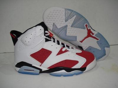 Jordan 6 Retro black/white/red III