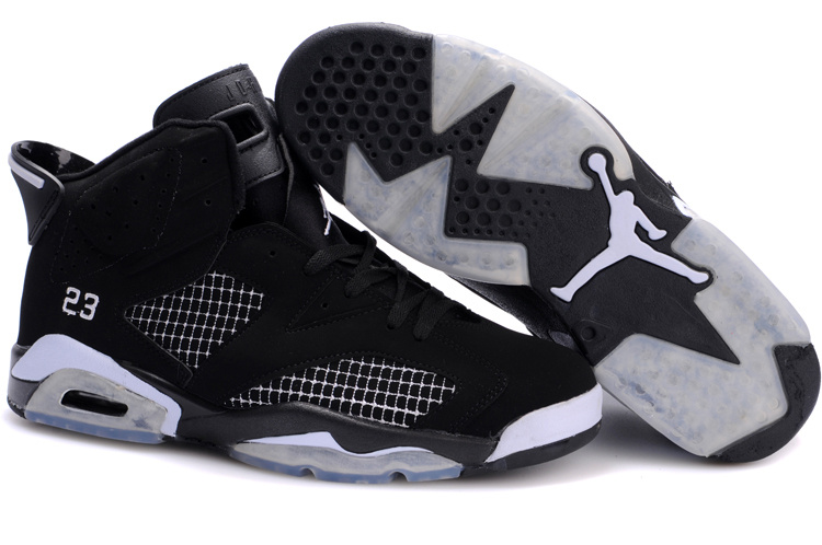 Jordan 6 Retro black/white V