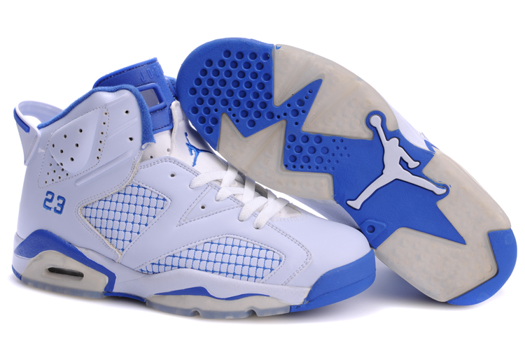 Jordan 6 Retro white/blue II