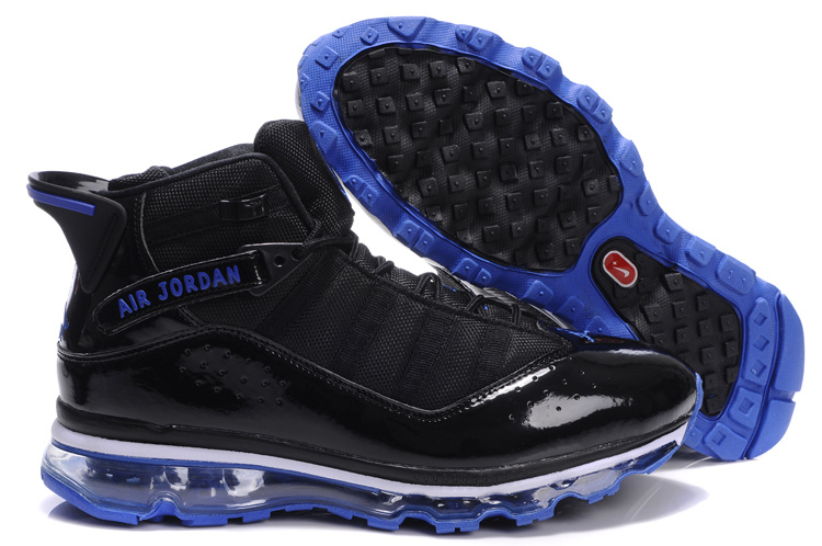 Jordan 6 Rings Air Max black/white/blue