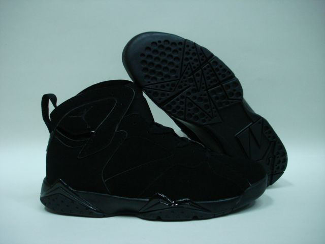 Jordan 7 Shoes black