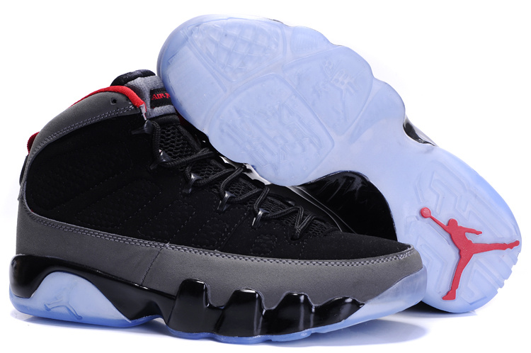 Jordan 9 Retro black/white/gray