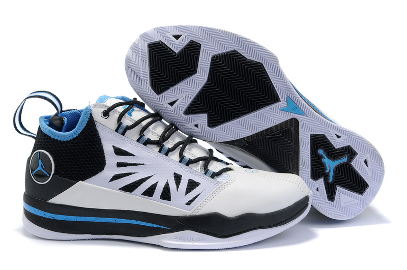 Jordan CP3 IV T23 Shoes black/white/blue
