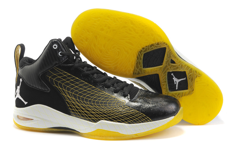 Jordan Fly 23 Shoes white/black/yellow
