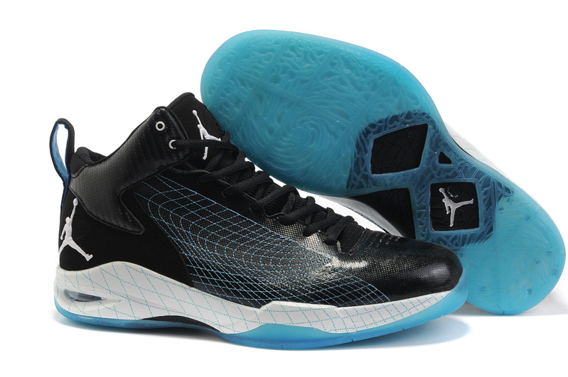 Jordan Fly 23 Shoes white/black/deepsyblue