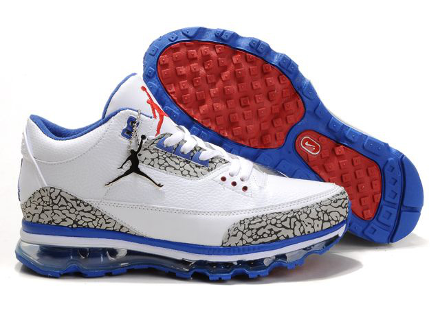 Jordan 3 Air Max red/white/blue
